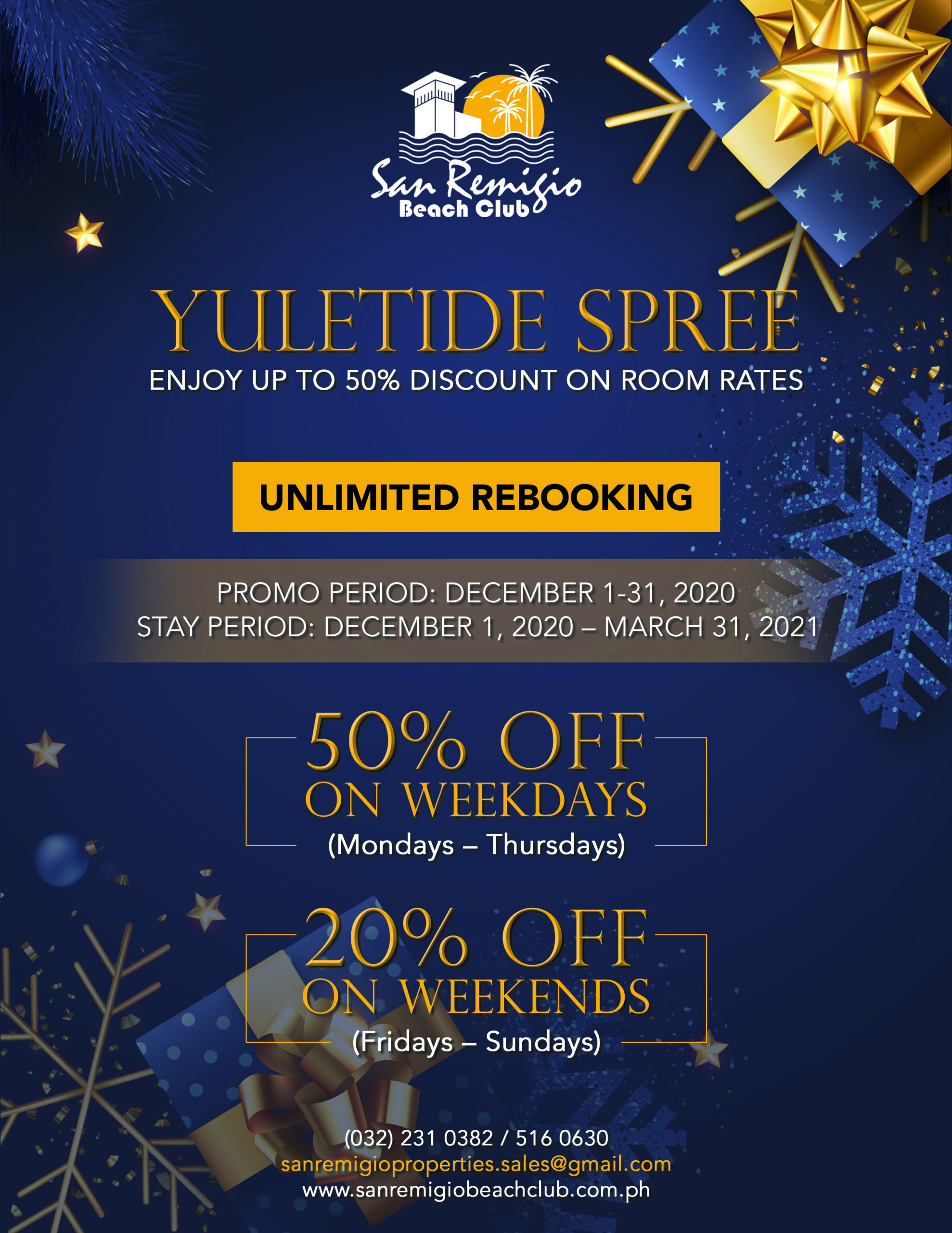 YULETIDE SPREE